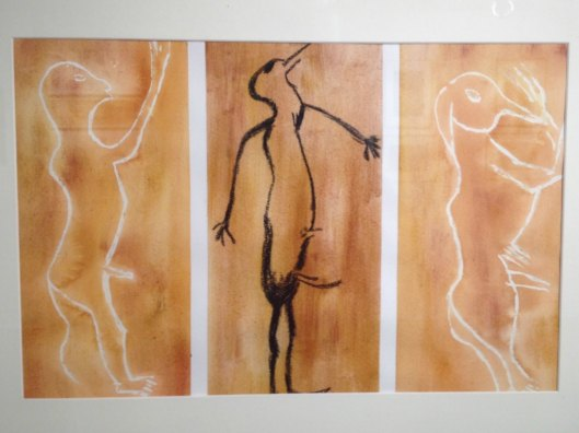 Anthropomorphic-Paleolithic-Cave-Art